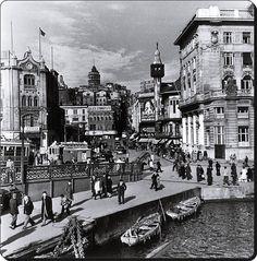 ✿ ❤ Bir Zamanlar İSTANBUL, Karaköy 1946