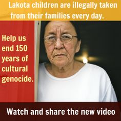 South Dakota refuses to follow the law. The solution? Foster care run by Lakota, for Lakota! Watch and RT: http://lakotalaw.org/life