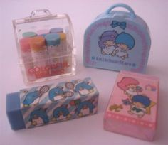 hello kitty and twin star stationery was all the rage