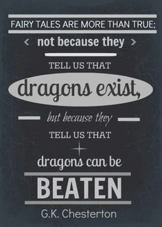 Because children know that dragons exist!