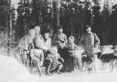 The Russian grand duchesses OTMA with their father aunts and uncles. by historyofromanovs