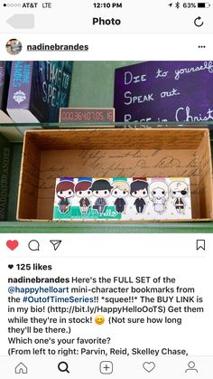 Love Nadine Brandes books and these character inspired bookmarks by Happy Hello Art