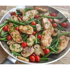 Balsamic Chicken Tenders w/ Veggies | Clean Food Crush