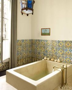 @Keerthi_estates #Bangalore #Hyderabad #India www.keerthiestates.in 17th-century tiles and a #Moroccan lantern #work #beautifully in this #masterbath. Classic Isn't it?? Hit Like & Share :)  To explore Keerthi Estates Private Ltd projects, click here! www.keerthiestates.in Or Call #Hyderabad Off : +91 9966603939 / 040- 2354 8981/ #Bangalore Off : +91-080 – 2534 6632  For any assistance Click Like -> www.facebook.com/Keerthiestatespltd