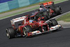 Scuderia Ferrari F1 - Résultats GP de Hongrie 2012