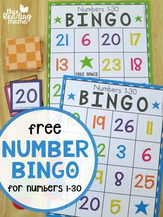 Looking for a fun way to work on number recognition for numbers 1-30? Try these FREENumber BINGO boards. Six differentboards come in this freebie as well as number cards {color & black/white available}. This freebie isthe 10th and finalpost ofour Getting Ready for Kindergarten Series. I simply can't believe how fast the summer has gone! …