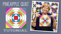 Make a Pineapple Quilt with Jenny!