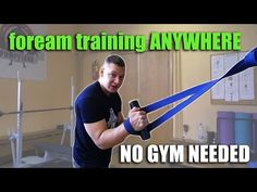 Here are some awesome variation to train your wrist, grip and forearms for arm wrestling using just Resistance ban. Forearm Workout At Home, At Home Workouts, Forearm Training, Wrestling Workout, Resistance Band Training, Listening To You, You Can Do, Coaching, Strong