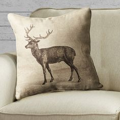 You'll love the Deer Embroidered Pillow at Joss & Main - With Great Deals on all products and Free Shipping on most stuff, even the big stuff.