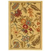 Found it at Wayfair - Chelsea Beige & Red Missy Floral Area Rug