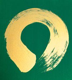 Enso Gold Green