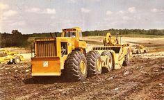 Classic Machines: The Caterpillar 641 single engine scraper