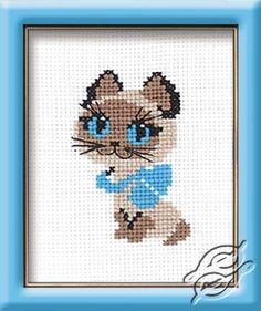 Kitten - Cross Stitch Kits by RIOLIS - 462