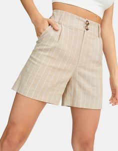 Preppy, Bermuda Shorts, Casual Shorts, Short Dresses, Cute Outfits, Womens Fashion, Pants, Clothes, Fresh