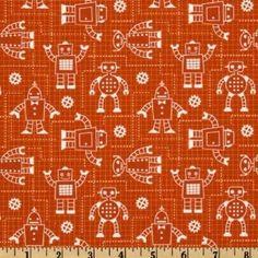 Robot Factory Organic Robot Schematics Orange