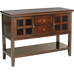 Wood Ronan Sideboard - Tobacco Brown - Home Decor Furniture Ideas