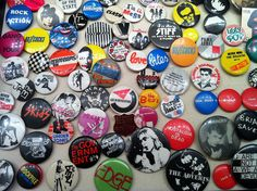 Punk Rock Buttons | Punk Rock Button Collection | Flickr - Photo Sharing!