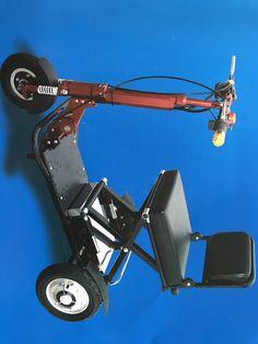 Safe & folding travel scooter with intelligent braking system Available @ #ENZAGroupSAandTAS