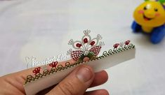 Thread Work, Tatting, Elsa, Embroidery, Lace, Flowers, Design, Rage, Needlepoint