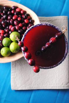 Cranberry Margarita... yes please! @Vianney Rodriguez