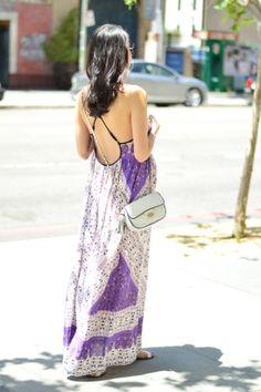 maxi dress love #pregnancystyle