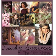 """Zyla Dusky Summer"" by colorazione on Polyvore ~ The Earth Mother Archetype"