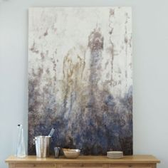 Lavender Smoke Abstract Print | Dining room?