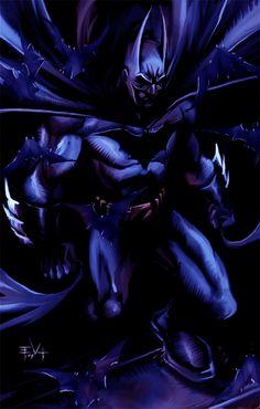 The Dark Knight by *ErikVonLehmann on deviantART