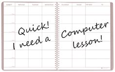 Computer Teacher Solutions Blog: An idea for when you need a quick computer lesson!...