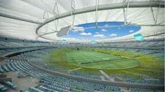 a picture of estadio do maracana an open air stadium in brazil