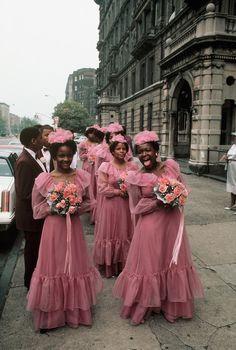 Bridesmaids in NYC 1983 - Thomas Hoepker