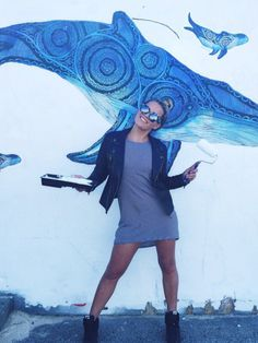 Creative goals: Flick Palmateer, surfer, artist and conservationist