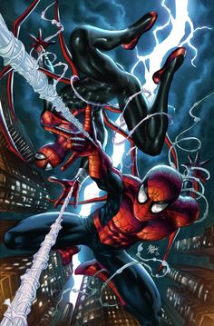 Amazing and Superior Spider-Man - Mike Deodato Jr. / Colors - Omi Remalante Jr.