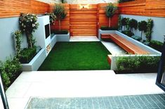 Marvellous Modern Landscaping Ideas For Small Backyards Pics Inspiration
