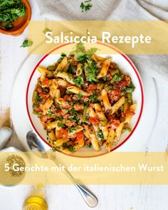 Salsiccia Rezepte frisch kochen Marley Spoon, Thai Red Curry, Ethnic Recipes, Food, Italian Sausages, Easy Meals, Cooking, Food Food, Essen