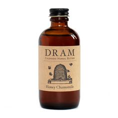 Dram Honey Chamomile Bitters | Hand-Crafted Cocktail Bitters, Herbal Extract and Tinctures - Dram Apothecary