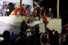 At Mexican School Hit by Quake Heartbreak and Dwindling Hope