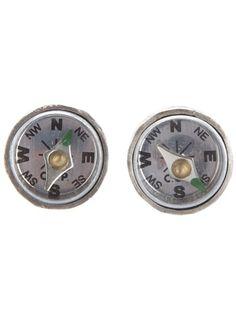 CAROL CHRISTIAN  POELL Compass Earrings