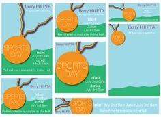 Sports Day - Published PTA Templates and Poster Kits