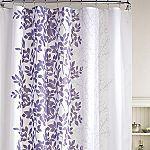 Shadow Vine Shower Curtain from JC Penney Purple Bathrooms, Purple Rooms, Zen Bathroom, Bathroom Ideas, Bath Ideas, Bathroom Organization, Vinyl Shower Curtains, Purple Shower Curtains, Purple Color Palettes