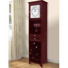 Obannon 24 Bottle Wine Cabinet