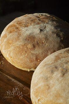 Potato Soup and Cheddar Bread. A perfect combination.