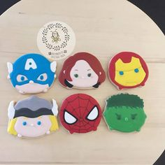 The Avengers Tsum Tsum Cookies by Busybee0715 on Etsy