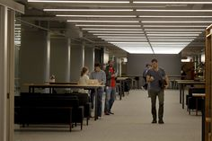 Workers are learning their way around Square's new offices, where the main corridor is nearly a block long. Photo: Brant Ward, The Chronicle