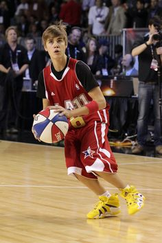 He is fricken talented at basketball