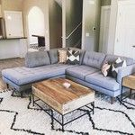 Peggy Mid-Century Terminal Chaise Sectional | west elm