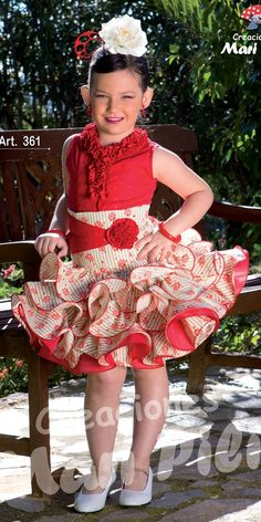 falda flamenca de niña - Buscar con Google Flamenco Dancers, Kind Mode, Boy Fashion, Baby Dress, Tutu, Harajuku, Princess, Google, How To Wear