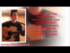 Ryan Lawrie wrote this not me!!!! A girl mailed me on facebook asking me to write a song for her as she was terminally ill, I said to her i would write a song for her but it would have to wait until my exams were over as i was very busy. she said that was fine. On facebook today, i found out that she sadly pasted away last night and I wrote this song for her today! This is dedicated to anyone who has ever lost anyone much love from me Ryan Lawrie