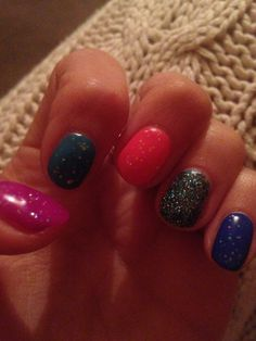 Neon and glitter