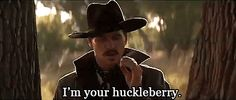 I'm Your Huckleberry - Oh. I love love love Val Kilmer as Doc Holliday! Val Kilmer Doc Holliday, Doc Holliday Quotes, Tombstone Movie Quotes, Tombstone 1993, Doc Holliday Tombstone, Im Your Huckleberry, Huckleberry Quotes, Cowboy Quotes, Favorite Movie Quotes